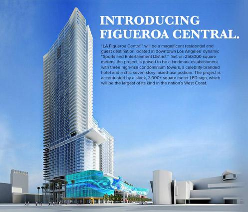 Luxury Cavalli Hotel Coming to Massive Fig Central in Downtown LA