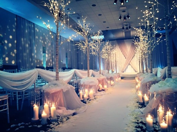 Bright Event Productions, Winter Wedding, Big Events