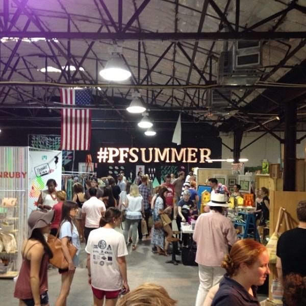 BRIGHT Event Productions, Porter Flea Summer Market 2015 (4)
