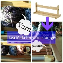 Ikea Mala Yarn Storage