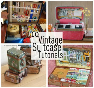 Ten Vintage Suitcase Tutorials