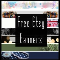 Free Etsy Banners