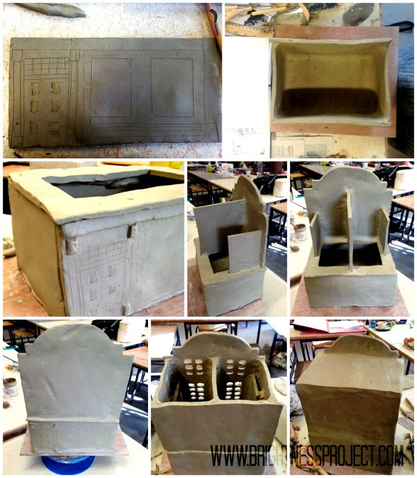 Ceramic house process
