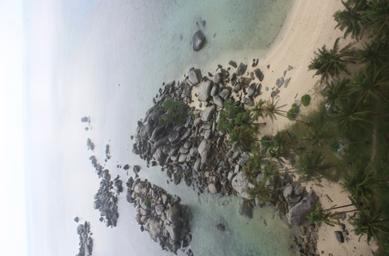 Itu pulau Batu Granit lho.. Bukan kerikil