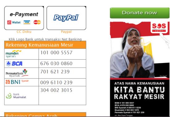 Ke ATM yuk... Donasi