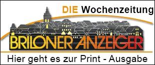 Briloner Anzeiger - Die Wochenzeitung