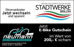 Strom sparen und 200€ E-Bike Gutschein erhalten