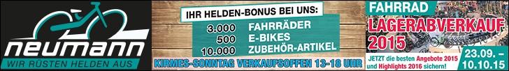 Fahrradwelt Neumann - Lager Abverkauf