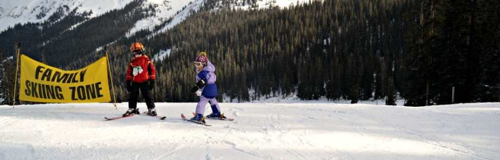 Teaching your OWN kids to ski