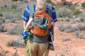 Onya Outback – possibly the only child carrier you'll ever need!
