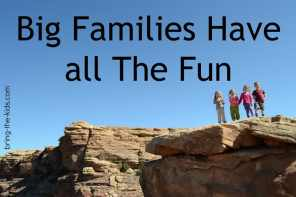 3 Reasons Big Families Have Better Adventures