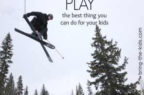 play skiing