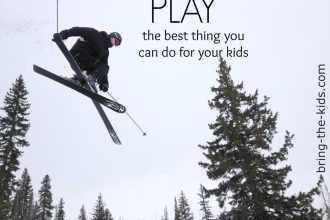 play skiing