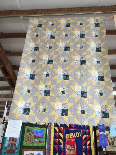 An excellent example of the wonderful quilts you can expect to find.