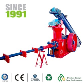 Features of Biomass Briquetting Press Machine