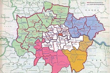 map london area