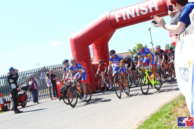 Riders setting off on last year's Tour of Cambridgeshire