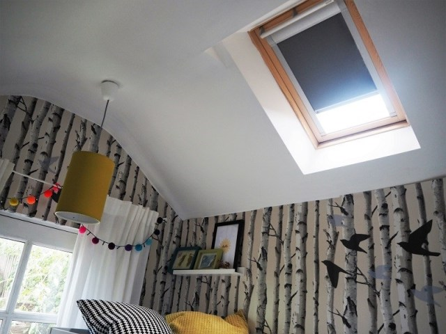 Velux window black-out blind
