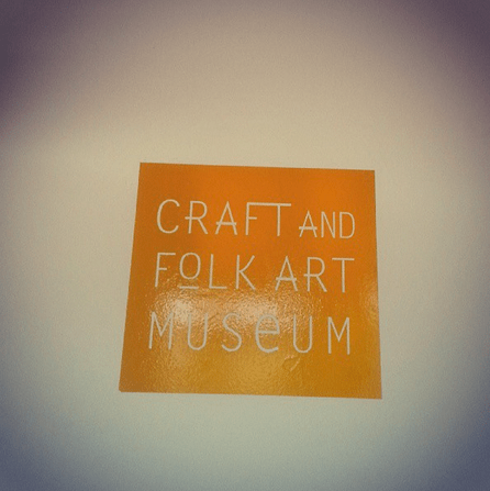 Museum Trippin': Inside the Craft & Folk Art Museum