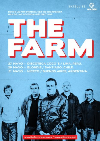 The Farm confirma tres fechas en Sudamérica