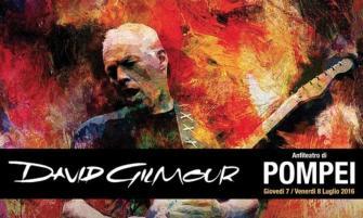 David Gilmour retorna con show a Pompeya
