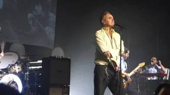 Morrissey sorprende con cover de Ramones en NY