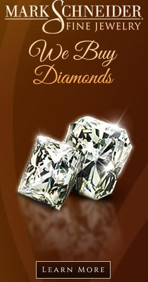 Mark Scheider - We Buy Diamonds - Half Page
