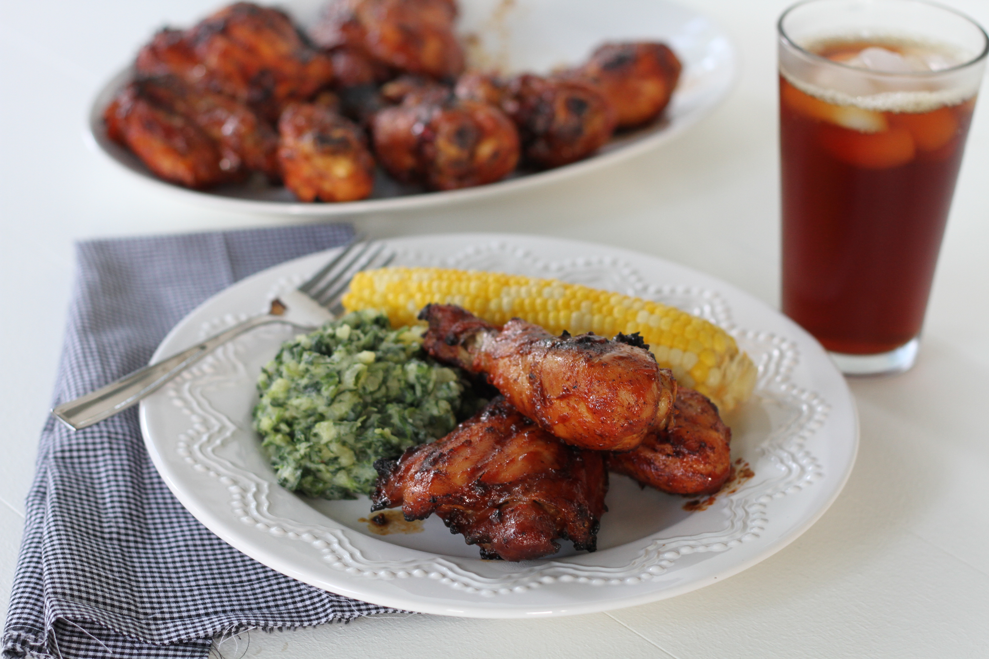 The BEST Barbecue Chicken - Brittany's Pantry : Brittany's Pantry