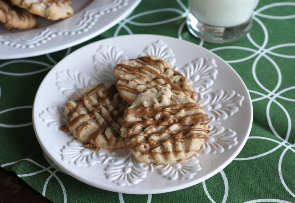 Simple Maple Nut Cookies W/Maple Glaze | Brittany's Pantry