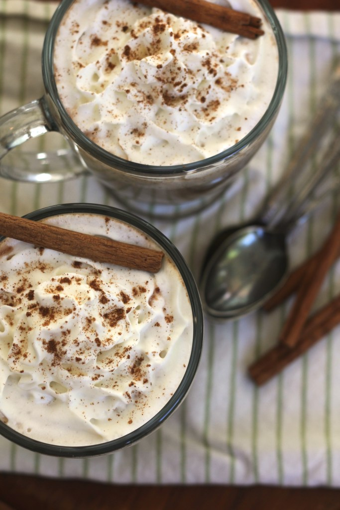 Pumpkin Spice Hot Chocolate just might become your favorite drink this season! {Brittany's Pantry}