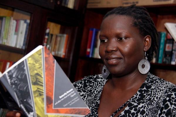 "Beatrice Lamwaka. Author of ""Butterfly Dreams."" Uganda."