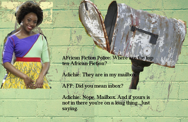 Mailbox Adichie