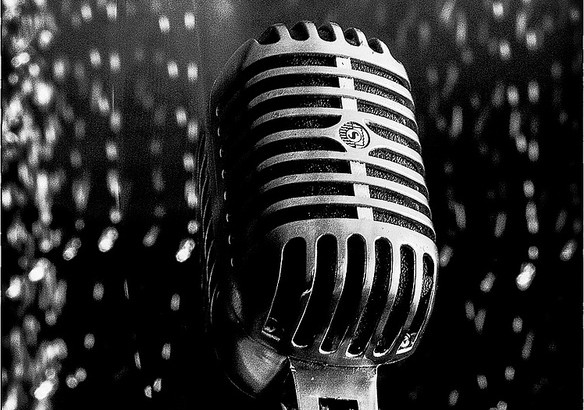 Microphone Abstract by Micro43Flickr