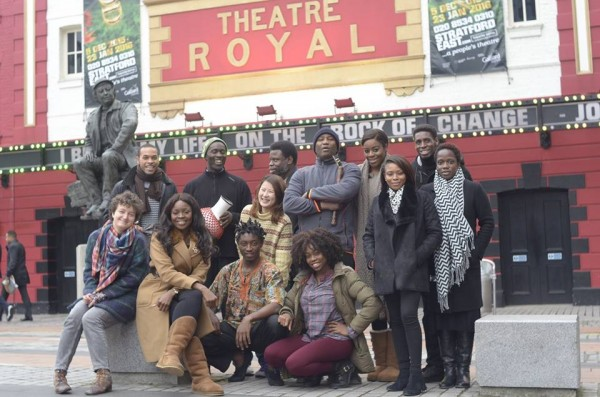 Cast and Crew in London