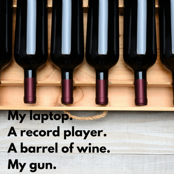 why-three-i-need-a-basic-four-my-laptop-a-record-player-both-solar-powered-a-barrel-of-wine-my-gun-cannot-picture-a-desert-island-without-wild-life