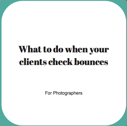 what if your clients check bounces