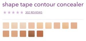 tarte-shape-tape-concealer-shades