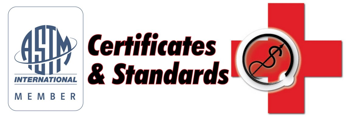 ASTM member and Logo certification