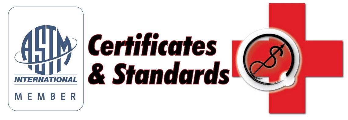 miembro de la ASTM y la certificación del logotipo