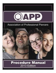 2013 app procedure manual cover