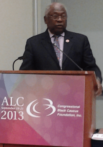 Congressman Clyburn at CBC