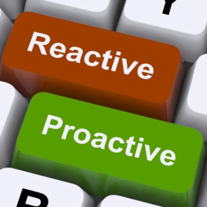 Computer Keyboard Proactive Reactive