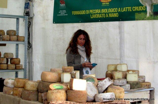 raw Italian cheese