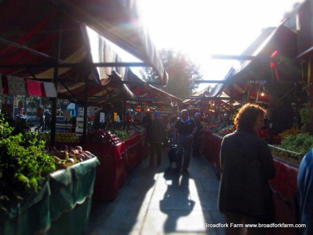 market in Torino