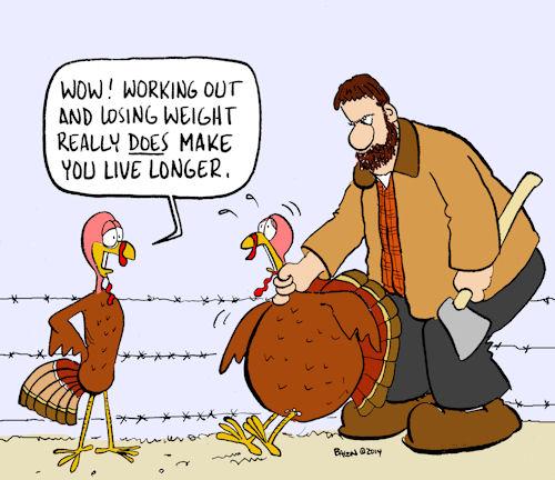 skinny turkey500