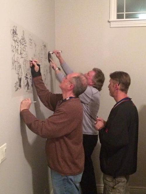 Rick Kirkman, Jeff Keane and Dave Mowder