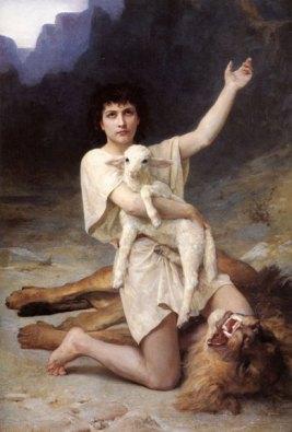 Elizabeth Jane Gardner Bouguereau, The Shepherd David, ca. 1895; Gift of Wallace and Wilhelmina Holladay