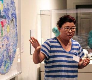 Jiha Moon at NMWA; Photo credit: Laura Hoffman