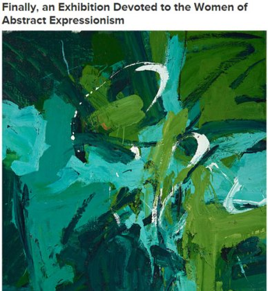 Hyperallergic introduces Women of Abstract Expressionism