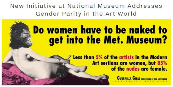 artnet covers Women, Art, and Social Change.
